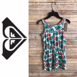 🌲5/$25 NWT Roxy Tropical Print Dress